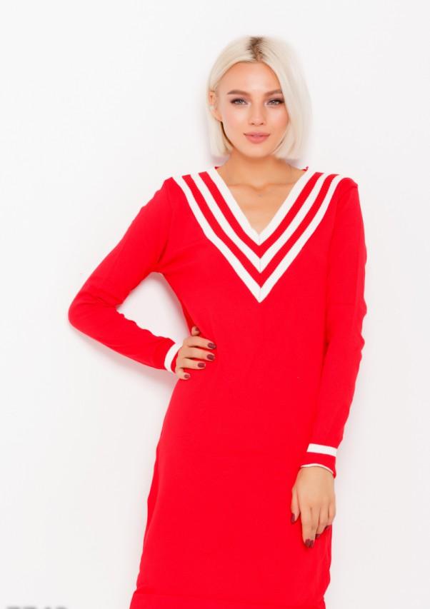 Платья ISSA PLUS 7743  L красный от Issaplus