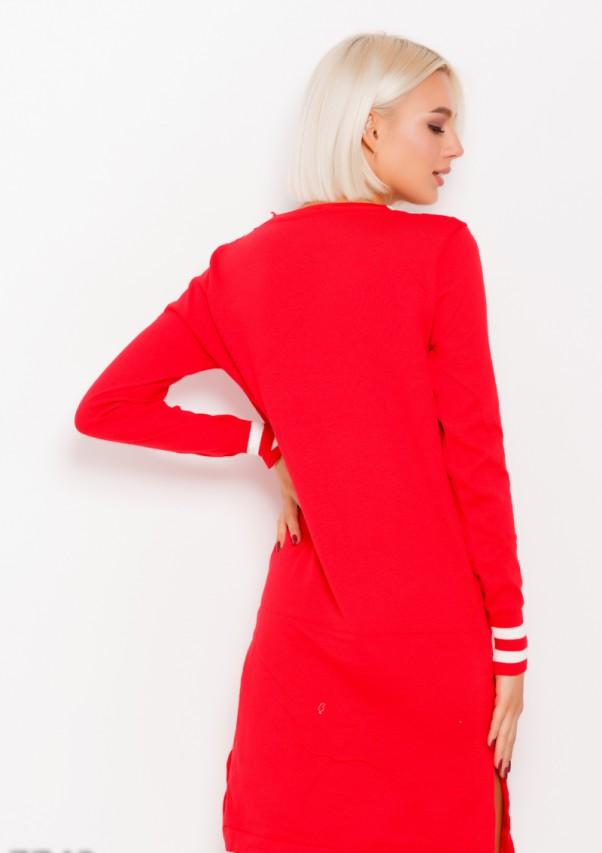 Платья ISSA PLUS 7743  L красный от Issaplus - 3