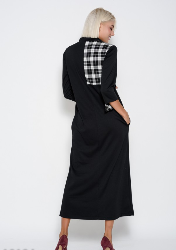 Платья ISSA PLUS 10194  XXL черный от Issaplus - 3