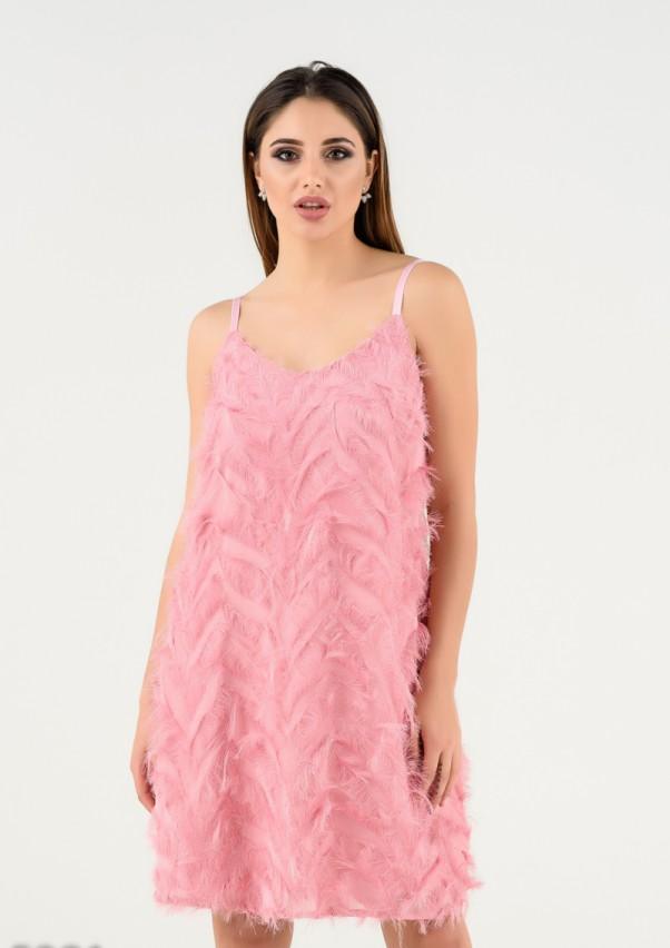 Платья ISSA PLUS 5281  S розовый
