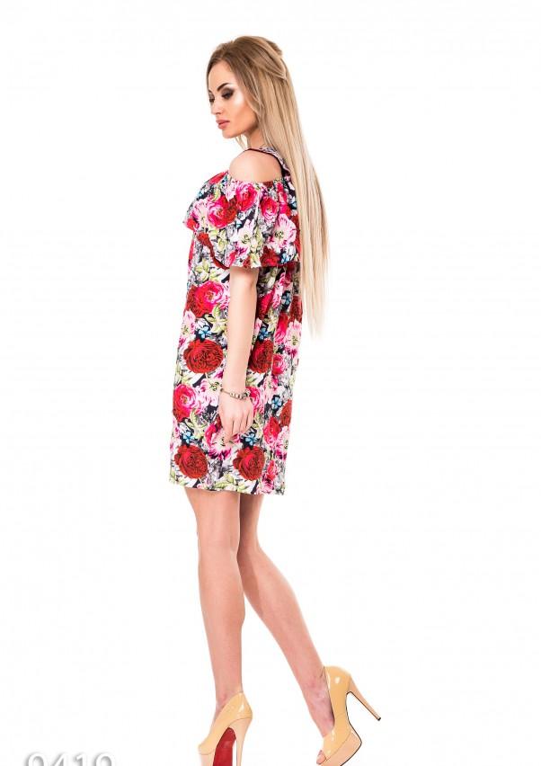 Платья ISSA PLUS 9419  L мультиколор от Issaplus - 3