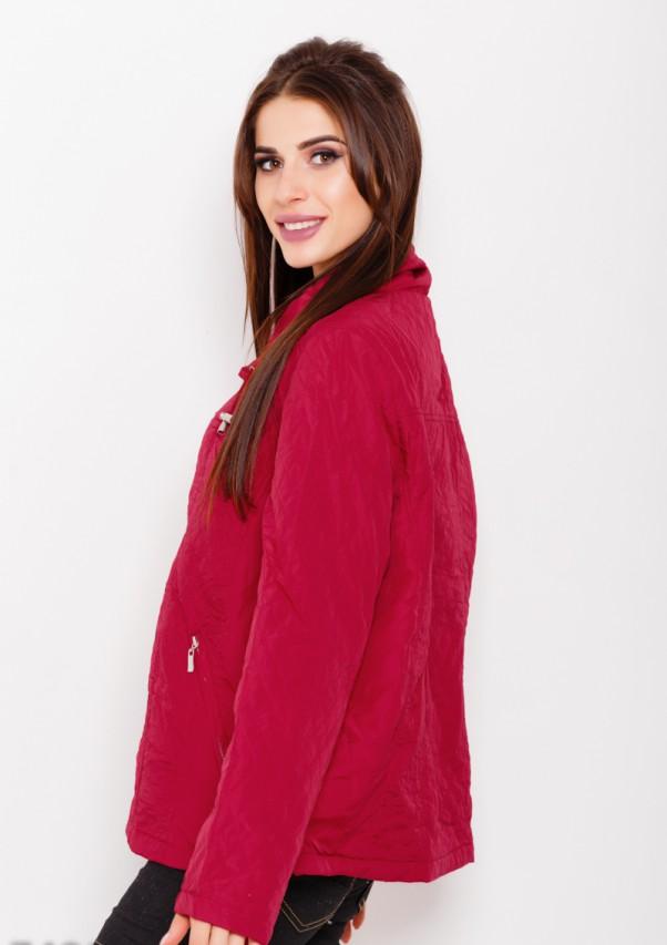 Куртки ISSA PLUS 7491  L бордовый от Issaplus - 2