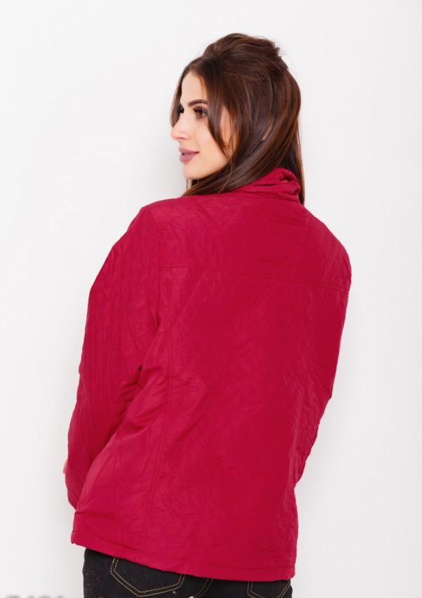 Куртки ISSA PLUS 7491  L бордовый от Issaplus - 3