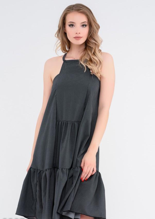 Платья ISSA PLUS 9887  M черный