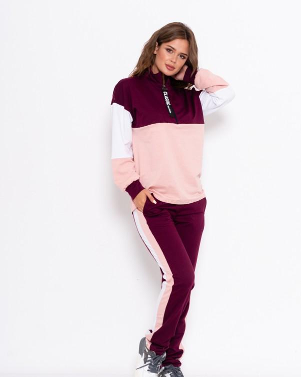 Спортивные костюмы ISSA PLUS 11001  L фиолетовый от Issaplus - 2